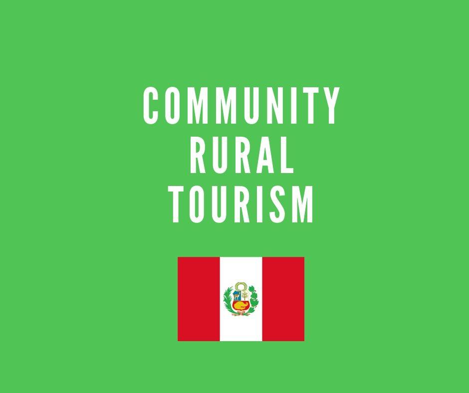 Rural tourism community
