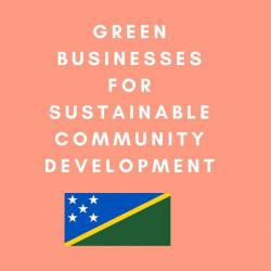 Green Businesses for Sustainable Community Development